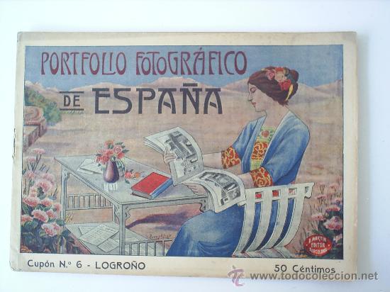 PORTFOLIO FOTOGRAFICO DE LOGROÑO N. 6 (Postales - España - La Rioja Antigua (hasta 1939))