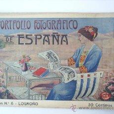 Postales: PORTFOLIO FOTOGRAFICO DE LOGROÑO N. 6. Lote 26402810