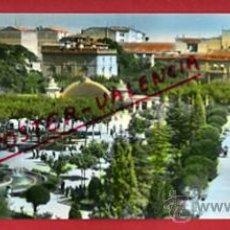 Postales: LOGROÑO, POSTAL DOBLE , VISTA PARCIAL ESPOLON MODERNO, EDICIONES PRATS, 9 X 23 CMS. ORIGINAL. Lote 289402998