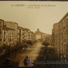 Postales: LOGROÑO CALLE BRETÓN DE LOS HERREROS - L.ROISIN . Lote 27870782