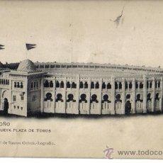 Postales: POSTAL DE LOGROÑO, NUEVA PLAZA DE TOROS . Lote 28436300