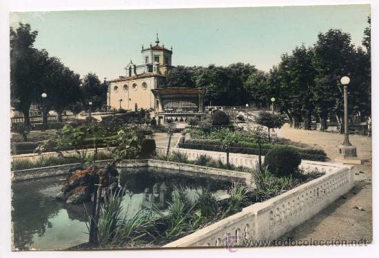HARO. 7. JARDINES DE LA VEGA. EDICIONES SICILIA, COLOREADA (Postales - España - La Rioja Antigua (hasta 1939))