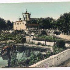 Postales: HARO. 7. JARDINES DE LA VEGA. EDICIONES SICILIA, COLOREADA. Lote 29126912
