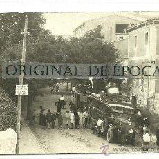 Postales: (PS-25425)POSTAL FOTOGRAFICA DE ARNEDO-PARADA DE LOS COCHES DE LINEA. Lote 29496382