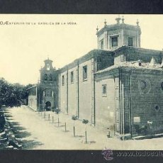 Postales: POSTAL DE HARO: EXTERIOR DE LA BASÍLICA DE LA VEGA (LIB.VIELA). Lote 30222340