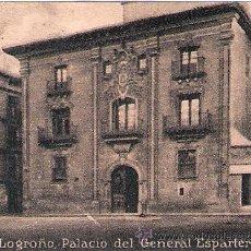 Postales: POSTAL ORIGINAL DECADA DE LOS 30. LOGROÑO. Nº 638. VER TAMAÑO Y EXPLICACION.. Lote 32167054