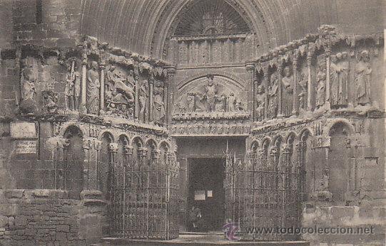 LOGROÑO, FACHADA DE SAN BARTOLOMÉ, EDITOR: ROISIN Nº 9... (Postales - España - La Rioja Antigua (hasta 1939))