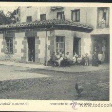 Postales: EZCARAY (LA RIOJA).- COMERCIO DE CEFERINO SOTO. Lote 35906974