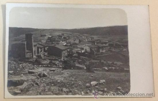 LUMBRERAS. VISTA GENERAL. POSTAL FOTOGRÁFICA. (Postales - España - La Rioja Antigua (hasta 1939))