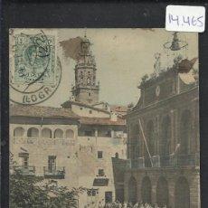 Postales: HARO - AYUNTAMIENTO Y TORRE DE SANTO TOMAS - ADOLFO HERRARTE - (14.465). Lote 36486885