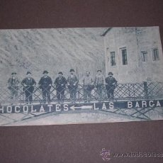 Cartes Postales: MUNILLA ( LOGROÑO ) CHOCOLATES LAS BARGAS ,HIJOS DE ISIDRO AGUIRRE ,THOMAS BARCELONA 14X8 CM.. Lote 37222765