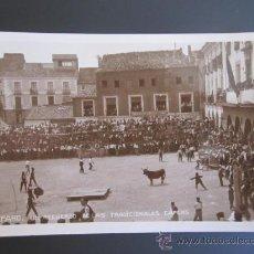 Postales: ANTIGUA POSTAL FOTOGRÁFICA DE ALFARO, LA RIOJA. LAS TRADICIONALES CAPEAS.. Lote 37615270