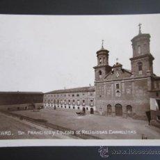 Postales: ANTIGUA POSTAL FOTOGRÁFICA DE ALFARO, LA RIOJA. COLEGIO DE RELIGIOSAS CARMELITAS.. Lote 37615460