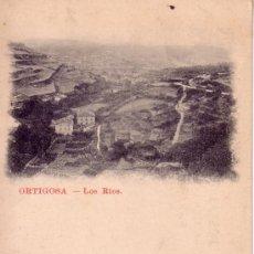 Postales: LA RIOJA - ORTIGOSA - LOS RIOS - SIN CIRCULAR . Lote 39299430