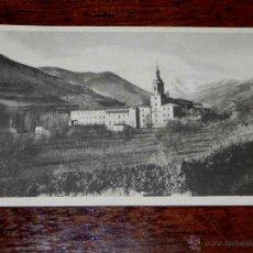Postales: ANTIGUA POSTAL - SAN MILLAN DE LA COGOLLA - VISTA PANORAMICA DEL MONASTERIO - HAUSER Y MENET - 1 - S. Lote 38268189
