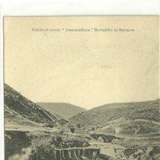 Postales: BARBADILLO DE HERREROS (LA RIOJA).- SUBIDA AL MONTE -LOMOMEDIANO-. Lote 40258313