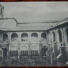 Postcards - ANTIGUA POSTAL DE NAJERA - LA RIOJA - SANTA MARIA LA REAL - VISTA GENERAL DEL CLAUSTRO, SERIE A. N. - 38287485