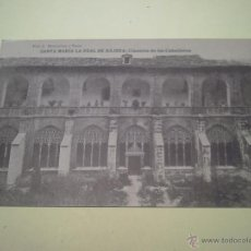 Postales: SANTA MARÍA LA REAL DE NÁJENA:CLAUSTRE DE LOS CABALLEROS - FOT. J. MONTALVO Y SANZ - HAUSER Y MENET. Lote 40281121