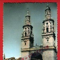Cartoline: POSTAL, LOGROÑO, LA RIOJA, TORRES GEMELAS DE LA REDONDA, P90653. Lote 40354863