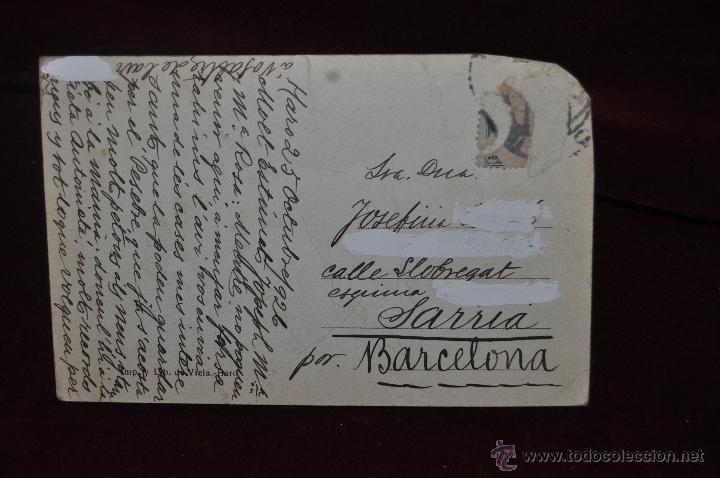 Postales: ANTIGUA POSTAL DE HARO. CASA ANTIGUA EN LA PLAZA DE SAN MARTÍN. ESCRITA Y CIRCULADA - Foto 2 - 40999970