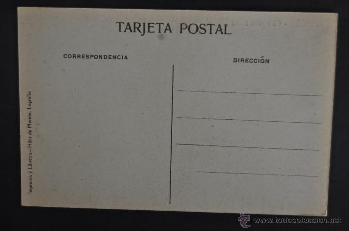 Postales: ANTIGUA POSTAL DE LOGROÑO. LA RIOJA. VISTA PANORAMICA. SIN CIRCULAR - Foto 2 - 41256695