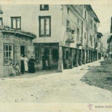 EZCARAY. CALLE MAYOR.COMERCIO DE CEFERINO SOTO. HACIA 1905.CIRCULADA.