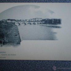 Postales: LOGROÑO LA RIOJA PUENTE DE PIEDRA POSTAL ANTERIOR A 1905. Lote 43039210