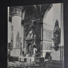 Postales: ANTIGUA POSTAL DE ALFARO. LA RIOJA. SAN MIGUEL, ALTAR MAYOR. HAUSER Y MENET. SIN CIRCULAR. Lote 43324863