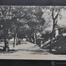 Postales: ANTIGUA POSTAL DE ALFARO. LA RIOJA. PASEO DE LA FLORIDA. HAUSER Y MENET. SIN CIRCULAR. Lote 43324937