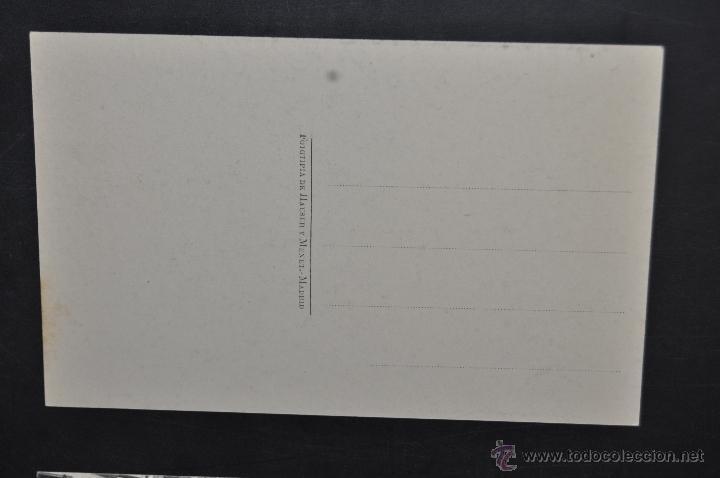 Postales: ANTIGUA POSTAL DE ALFARO. LA RIOJA. SAN MIGUEL, BERJA DEL CORO. HAUSER Y MENET. SIN CIRCULAR - Foto 2 - 43325028