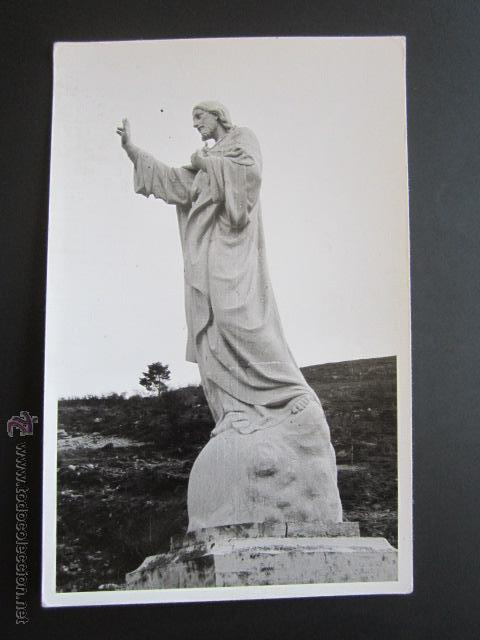 POSTAL LA RIOJA. LOGROÑO. SAGRADO CORAZÓN DE ORTIGOSA DE CAMEROS. (Postales - España - La Rioja Antigua (hasta 1939))