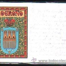 Postales: TARJETA POSTAL DE LOGROÑO, LA RIOJA - ESCUDO. Nº 29.. Lote 45044775