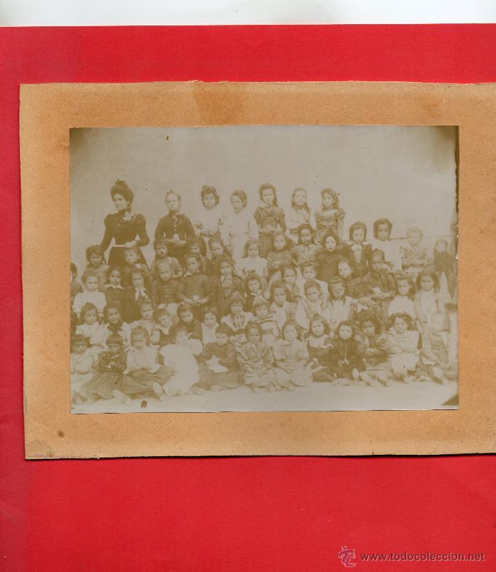 AUTOL. FOTO MAESTRA CON NIÑAS (Postales - España - La Rioja Antigua (hasta 1939))