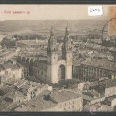 Postales: LOGROÑO - VISTA PANORAMICA - P2406. Lote 45397853