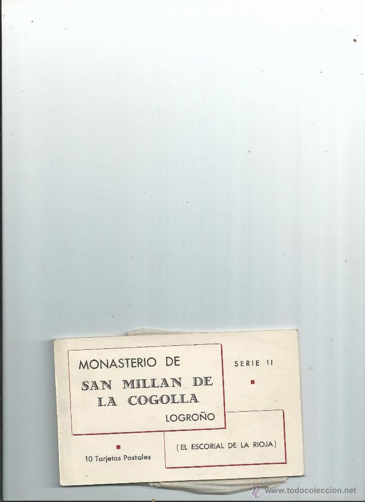 BLOC DE 10 POSTALES - MONASTERIO DE SAN MILLAN DE LA COGOLLA LOGROÑO - HAUSER Y MENET (Postales - España - La Rioja Antigua (hasta 1939))