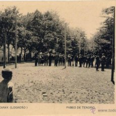 Postales: EZCARAY (LA RIOJA).- PASEO DE TENORIO. Lote 46535098