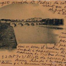 Postales: LOGROÑO.- PUENTE DE PIEDRA. Lote 46538568