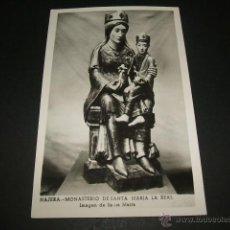 Postales: NAJERA LA RIOJA IMAGEN DE SANTA MARIA LA REAL. Lote 46703048