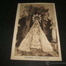 Postales: VALVANERA LA RIOJA LA IMAGEN CON MANTO . Lote 46703082