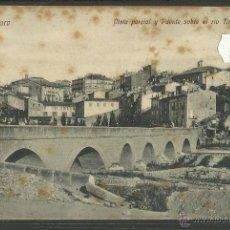 Postales: HARO - PUENTE SOBRE EL RIO TIRON - ED· H. DEL VAL (28065). Lote 47082468
