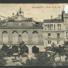 Postales: HARO - AYUNTAMIENTO Y PLAZA DE LA PAZ - ED· H. DEL VAL (28066). Lote 47082483