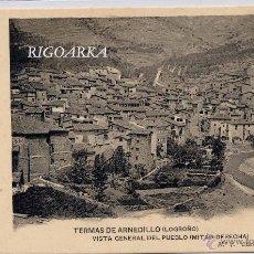 Postales: TERMAS DE ARNEDILLO (LOGROÑO).- VISTA GENERAL DEL PUEBLO (MITAD DERECHA). Lote 47226741