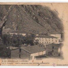 Postales: TARJETA POSTAL TERMAS DE ARNEDILLO (LOGROÑO). Nº 4. CLICHÉ DE J. VALENTÍN. AÑO 1911. Lote 47591754