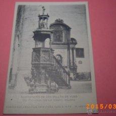 Postales: MONASTERIO SAN MILLÁN DE YUSO-ESCORIAL DE LA RIOJA- PÚLPITO-COLEC. ART. ESP. SERIE A Nº 8. Lote 48433553