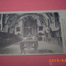Postales: MONASTERIO SAN MILLÁN DE YUSO-ESCORIAL DE LA RIOJA-SACRISTIA-COLEC. ART. ESP. SERIE A Nº 5. Lote 48433589