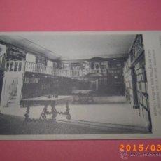 Postales: MONASTERIO SAN MILLÁN DE YUSO-ESCORIAL DE LA RIOJA- BIBLIOTECA -COLEC. ART. ESP. SERIE A Nº 4. Lote 48433607