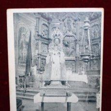 Postales: ANTIGUA POSTAL DE LA BATALLA DE CLAVIJO. LA RIOJA. LA VIRGEN DE LA ANTIGUA. ED. ACHA. SIN CIRCULAR. Lote 49316481