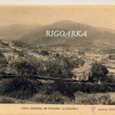 Postales: VISTA GENERAL DE EZCARAY (LOGROÑO). Lote 50802314