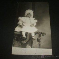 Cartes Postales: LOGROÑO RETRATO DE ESPERANZA DIAZ ARCAYA F. MORENO FOTOGRAFO LA POSTAL CAFE DE LOS LEONES LOGROÑO. Lote 51052909