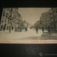 Postales: LOGROÑO MURO BRETON DE LOS HERREROS ED. SALÓN MURILLO. Lote 51765187